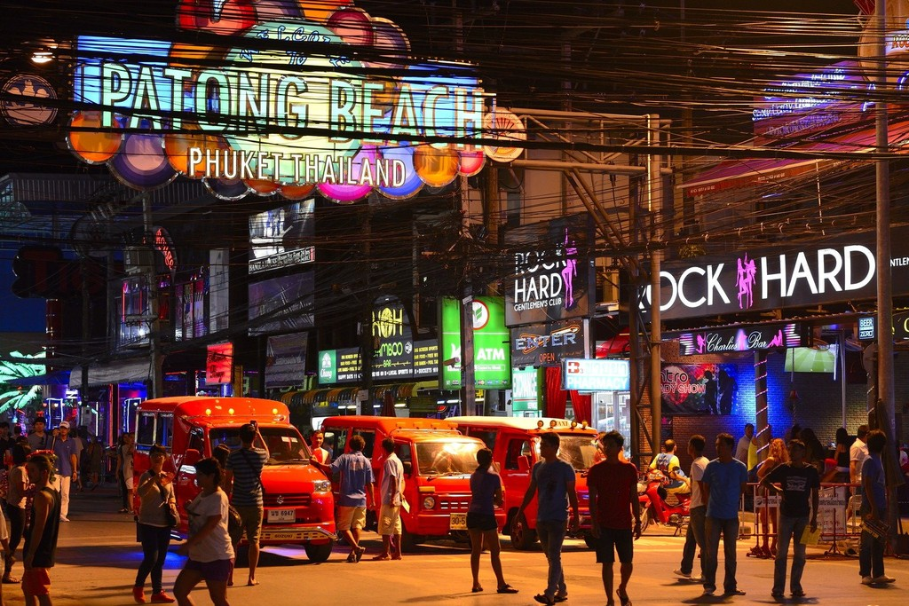 Bangla road. Patong. Marusya Quest